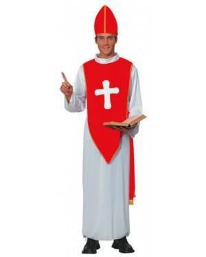 Fato Bispo com Chapéu Adulto