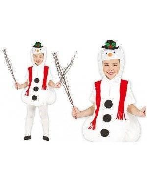Fato Boneco de Neve feliz para Carnaval o Halloween 12717 | A Casa do Carnaval.pt