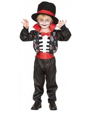 Fato Catrin Menino de 2-3 anos, Loja de Fatos Carnaval, Disfarces, Artigos para Festas, Acessórios de Carnaval, Mascaras, Perucas 447 acasadocarnaval.pt