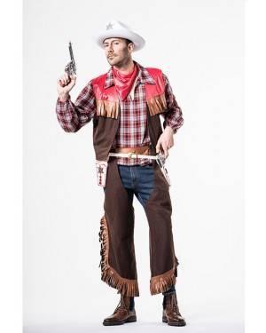 Fato Cowboy Homem Tamanho M/L para Carnaval o Halloween 92086 | A Casa do Carnaval.pt