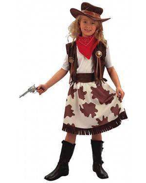Fato Cowgirl Menina