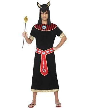 Fato de Egípcio Negro Adulto para Carnaval o Halloween | A Casa do Carnaval.pt