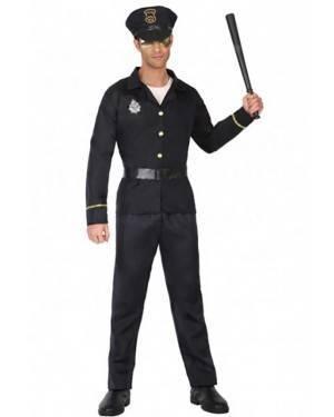 Fato de Polícia Homem para Carnaval o Halloween | A Casa do Carnaval.pt