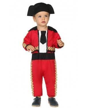 Fato de Toureiro Bebé para Carnaval o Halloween | A Casa do Carnaval.pt