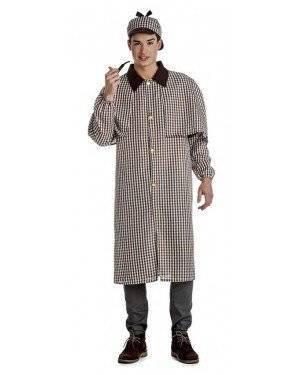 Fato Detetive Sherlock Homem Tamanho XL para Carnaval