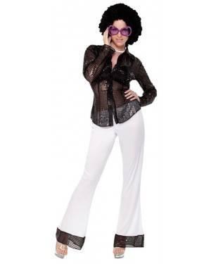 Fato Disco Lentejuelas Mulher Adulto, Loja de Fatos Carnaval, Disfarces, Artigos para Festas, Acessórios de Carnaval, Mascaras, Perucas 427 acasadocarnaval.pt