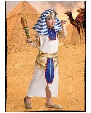 Fato Egipcia Blanca Infantil