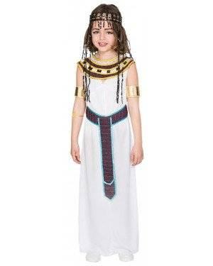 Fato Egípcia Menina de 10-12 anos, Loja de Fatos Carnaval, Disfarces, Artigos para Festas, Acessórios de Carnaval, Mascaras, Perucas 622 acasadocarnaval.pt