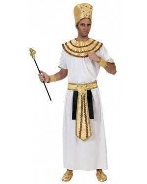 Fato Egipcio Rei Del Nilo Adulto
