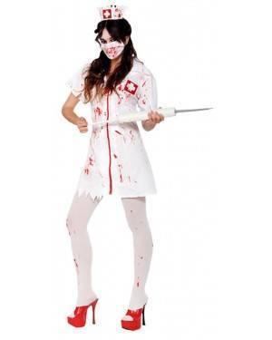 Fato Enfermeira Zombie Adulto