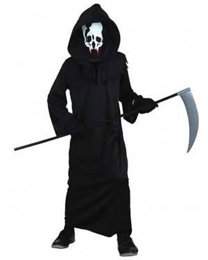 Fato Esqueleto de Halloween Criança