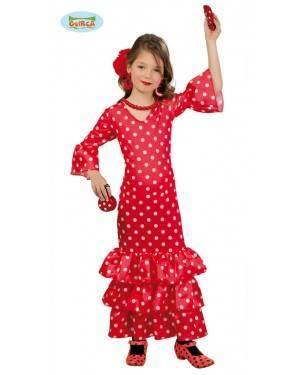 Fato Flamenca para Menina para Carnaval o Halloween 12044 | A Casa do Carnaval.pt