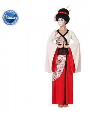 Fato Geisha Geixa Japonesa Mulher