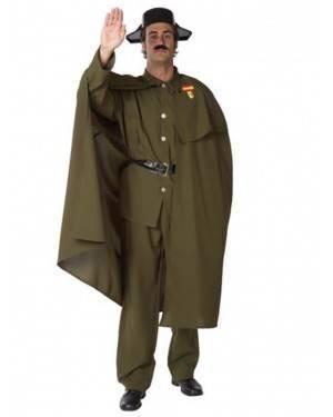 Fato Guardia Civil Con Capa Adulto