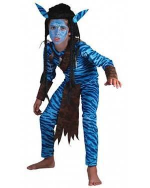 Fato Guerreiro-Avatar Menino