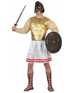 Fato Guerreiro Grego Adulto