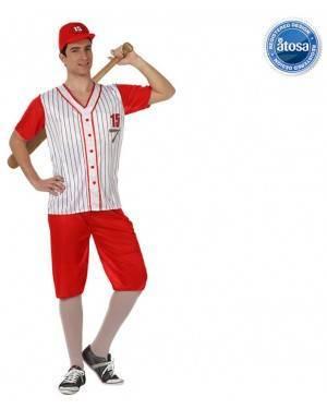 Fato Jogador de Beisebol do Softball Adulto