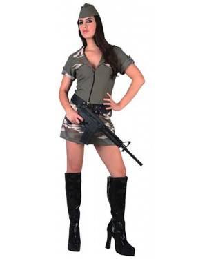 Fato Militar Sexy Adulto