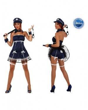 Fato Mulher Policia Sexy Adulto