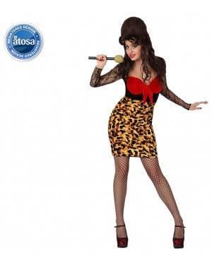 Fato Mulher Rocker Amy Adulto