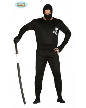Fato ninja para hombre, Loja de Fatos Carnaval, Disfarces, Artigos para Festas, Acessórios de Carnaval, Mascaras, Perucas, Chapeus 202 acasadocarnaval.pt