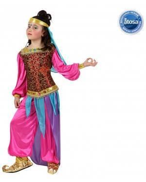 Fato Odalisca Dançarina Harem Menina