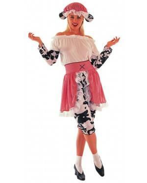 Fato Ordenha Vaca Mulher Adulto