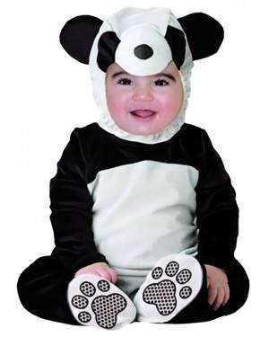 Fato Panda Criança Bebé