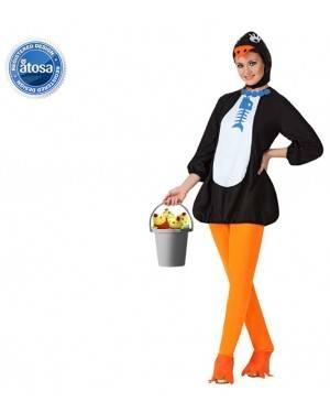 Fato Pinguim Sexy Mulher