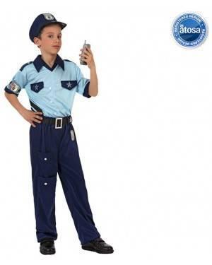 Fato Policia Azul Menino
