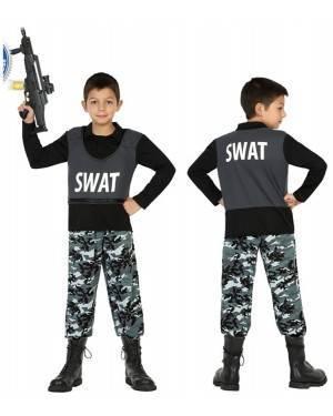 Fato Polícia SWAT Menino de 10-12 anos