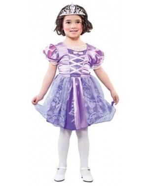 Fato Princesa Lilás Menina