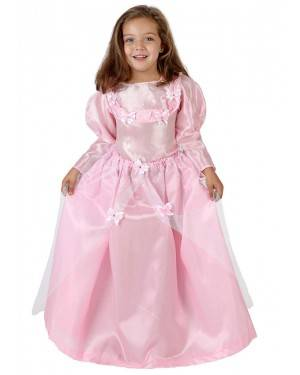 Fato Princesa Rosa Menina