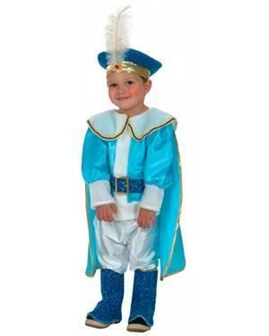Fato Príncipe Azul Criança