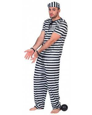 Fato Prisioneiro Adulto