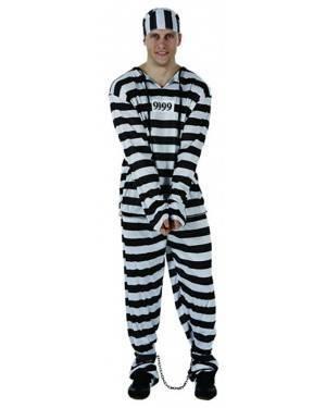 Fato Prisioneiro Presidiario Adulto