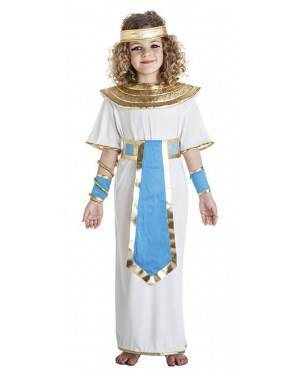 Fato Rainha Egipcia 10-12 Anos