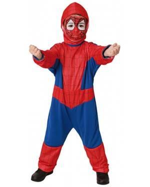 Fato Spider Super Heroi Menino