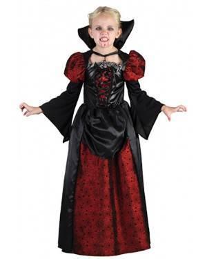 Fato Vampira Halloween Menina