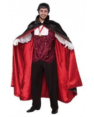 Fato Vampiro Conde Dracula Adulto