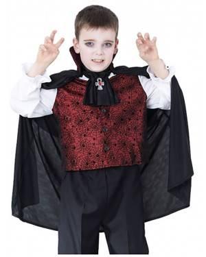 Fato Vampiro Halloween Menino