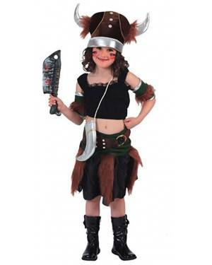 Fato Viking Menina