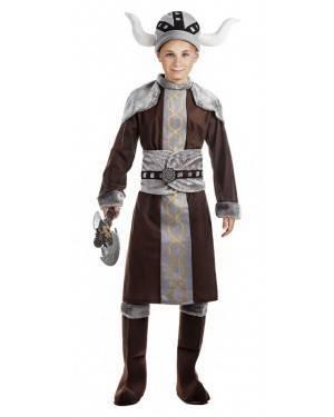 Fato Viking Menino 7-9 Anos