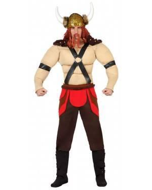 Fato Viking Musculoso Adulto