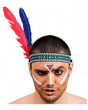 Fita de Índio com 2 Penas (2 Unidades)