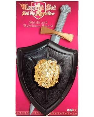 Kit Cavalheiro Criança Medieval
