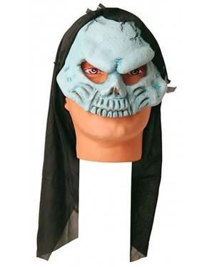 Máscara Crânio Azul