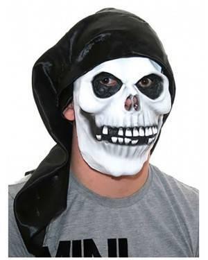 Máscara Crânio com Capuz