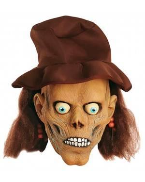 Máscara Crânio Pirata com Chapéu