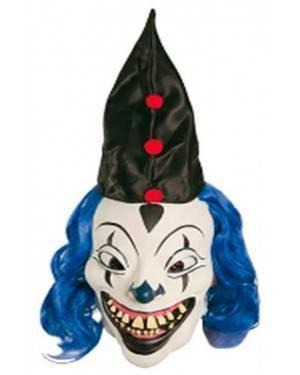 Máscara Palhaço Azul